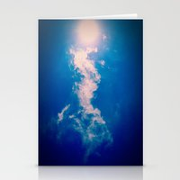 When The Sun Meets The C… Stationery Cards