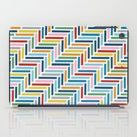 Herringbone 45 Colour iPad Case