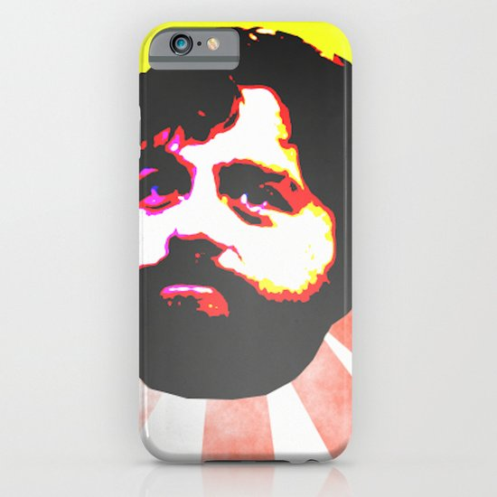 Zach Galifianakis Died for our Sins iPhone & iPod Case