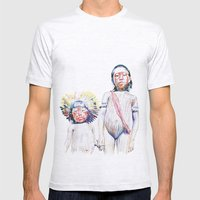 Maasai Mens Fitted Tee Ash Grey SMALL
