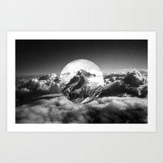 Cielo grigio e pungente Art Print
