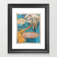 The Dick Zapper Framed Art Print