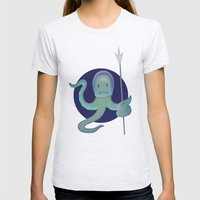 Lil Alien - Squiddy  Womens Fitted Tee Ash Grey SMALL