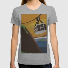 There's something about Rio Womens Fitted Tee Athletic Grey SMALL