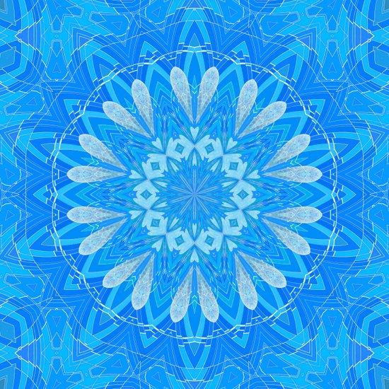 Bella Blue Art Print