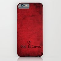 God is Love iPhone 6 Slim Case