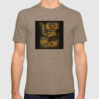 1938 Dodge 4 Door  Mens Fitted Tee Tri-Coffee SMALL