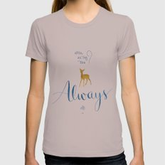Always Womens Fitted Tee Cinder SMALL
