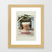 Tears In The Typing Pool… Framed Art Print