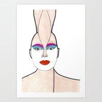 Opal (previous age) Art Print