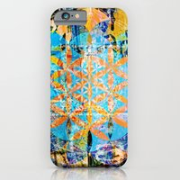 iPhone & iPod Case featuring Sacred-Décollage by ChiTreeSign