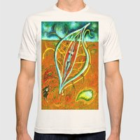Dacian Dreamcatcher Mens Fitted Tee Natural SMALL