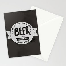 Beer Stationery Cards