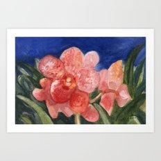 Midnight Beauty Art Print
