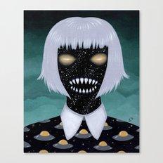 space demon ufos Canvas Print