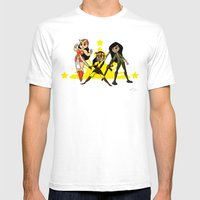 Super Pinay Friends Forever!  Mens Fitted Tee White SMALL