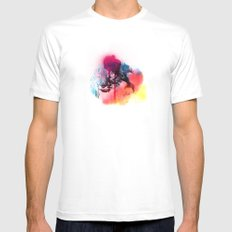 LINCE SMALL White Mens Fitted Tee