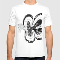 Smog  Mens Fitted Tee White SMALL