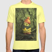 This Tree... Makes me happy... Mens Fitted Tee Lemon SMALL