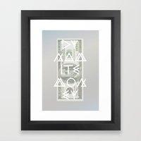 DYNAMITE MONEY Framed Art Print