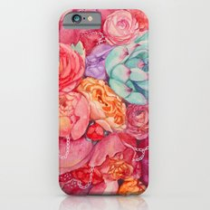 Summer bouquet iPhone 6 Slim Case