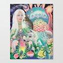 Spirit Fruit Canvas Print