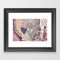 The Stems Were At Roulet… Framed Art Print