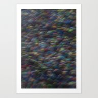 Art Print featuring Cosmos Pixel by Katie Troisi
