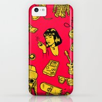 iPhone 5c Cases featuring The Nineties by Dave Homer