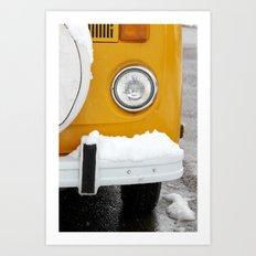 VW Eye Art Print