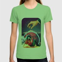 Touch Me Womens Fitted Tee Grass SMALL