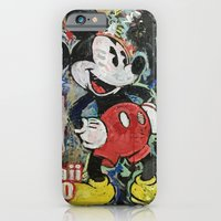 iPhone Cases featuring Cease and Desist by Matt Pecson