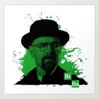 Breaking Bad Green Art Print