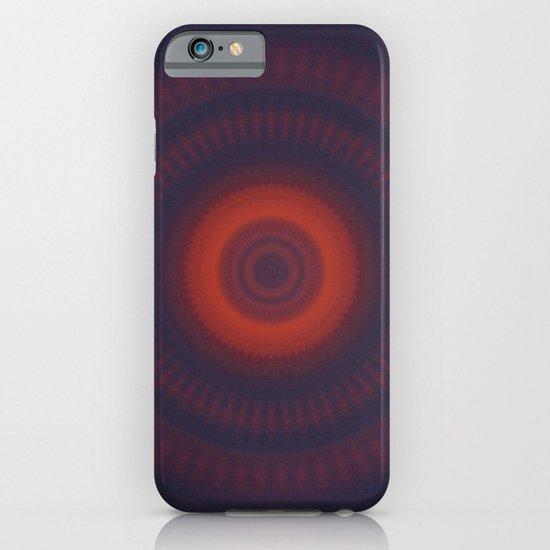 Sunset Mandala iPhone & iPod Case