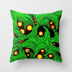 green bean edit Throw Pillow