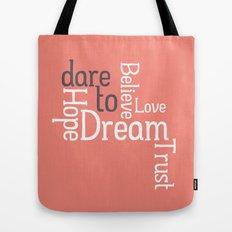 Dare to Love -- Alternate Version Tote Bag