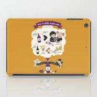 How To Make Divine Wine iPad Case