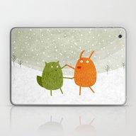 Dancing Wildlife #1 Laptop & iPad Skin