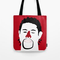 Ghost Dog Tote Bag