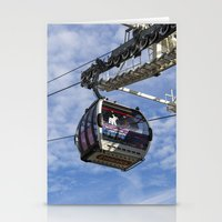 Emirates Cable Car London Stationery Cards