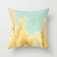 after-glow Throw Pillow
