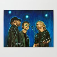 Bee Gee's Canvas Print