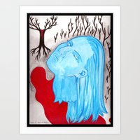 Ghost Of A Murder Art Print