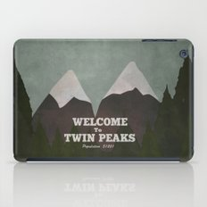 Welcome to Twin Peaks iPad Case