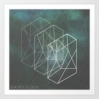 Beautiful Illusions  Art Print