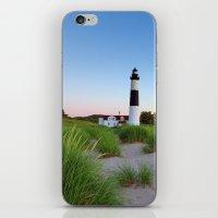 Big Sable Point Lighthouse - Ludington Michigan iPhone & iPod Skin
