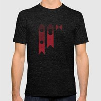 Know Your Meat Mens Fitted Tee Tri-Black SMALL