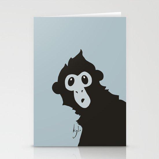 Spider Monkey - Peekaboo! Stationery Card