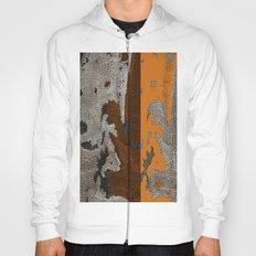 Abstract textured art work Hoody