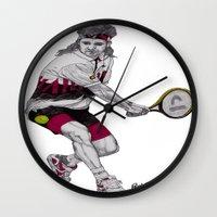 Tennis Agassi Wall Clock